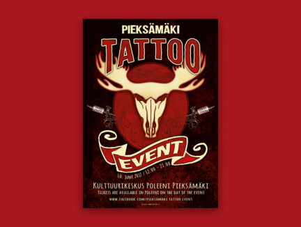 Plakat tatoo event